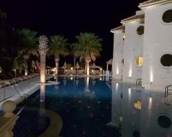 Night view of Palazetto hotel