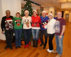 Christmas jumper - Singles Christmas Party Weekend – Bournemouth