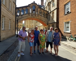 Group in Oxford sightseeing
