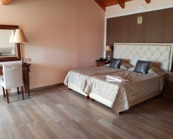 Typical bedroom Adult only Palazetto hotel - solo travel