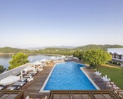 Pool Area Skiathos Palace Hotel - single traveller holidays