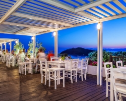 White View Grill Restaurant Skiathos Palace Hotel - single traveller holidays