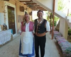 Singles Holiday, Farm excursion Zante, Greek Family