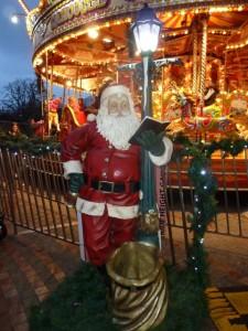 Santa in Bournemouth 2015.