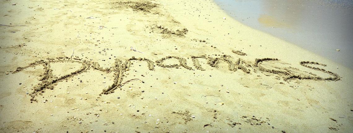 Dynamics in sand
